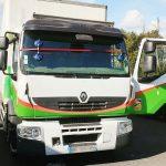 Changement de pare-brise sans franchise sur ce Renault Trucks.